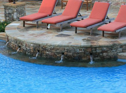 Custom Pool Water Features