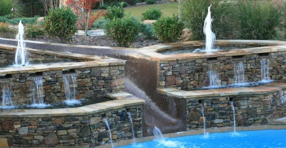 Luxury Stone Waterfall Water Feature