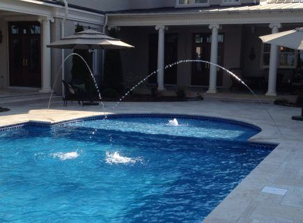 Custom Pool Water Fountains