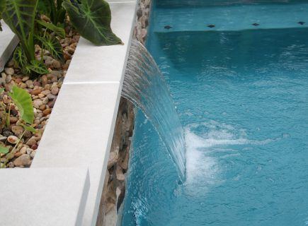 Custom Waterfall Water Feature
