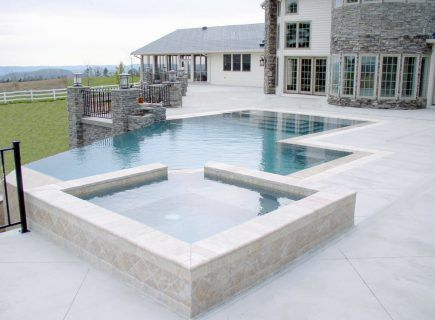 Master Pools Guild 2008 GOLD Geometric Infinity Pool