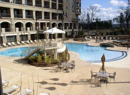 Custom Community Pool, Hoover Renaissance Resort, Ross Bridge