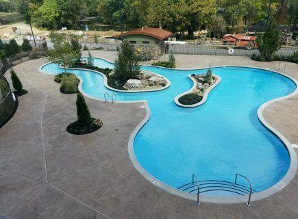 Custom Freeform Water Park Pool