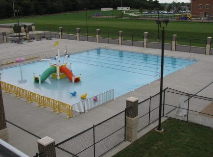 Custom Outdoor Pool for Longview Rec Ctr