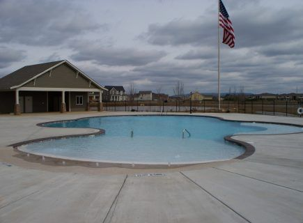 Custom Community Pool, MidTowne Subdivision