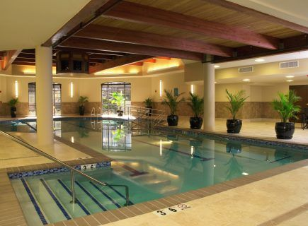 Custom Indoor Community Pool, Redstone Village