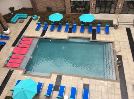 Custom Community Pool, The Avenue Apartments, Huntsville, AL