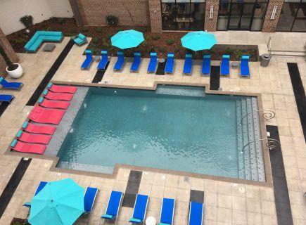 Custom Community Pool, The Avenue Apartments, Huntsville, AL
