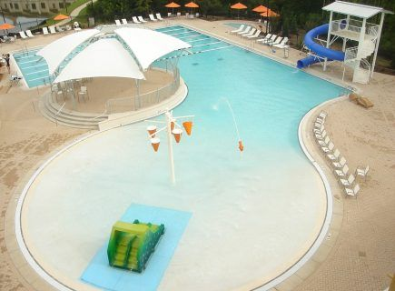 Custom Water Park Pool, The CLUB, Ridgeland, MS