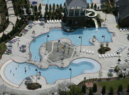 Westhaven Community Pool Custom Freeform