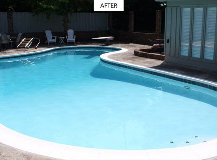 Old Pool After Renovation